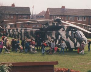 All Saints School Helicopter Landing 1997